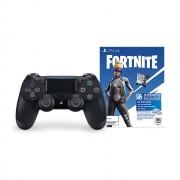 GamePad, Sony DualShock 4 Jet Black, Fortnite Neo Versa Bundle