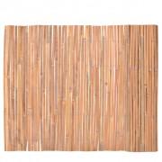 vidaXL Бамбукова ограда, 100x400 см
