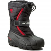 Апрески SOREL - Childrens Flurry NC1885 Black/Bright Red 015