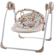 Leagan electric cu conectare la priza Monkey Sun Baby