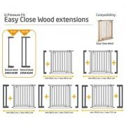 Poarta de siguranta Easy Close Wood Safety 1St
