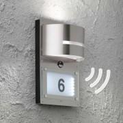 Marvel house number light with motion sensor