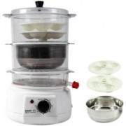 Smartlife SL-MC Food Steamer(1 L, White)