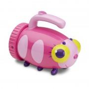 Lanterna pentru copii Giddy Buggy, Melissa and Doug, roz