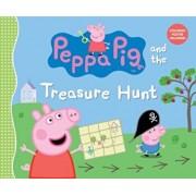 Peppa Pig and the Treasure Hunt, Hardcover/Candlewick Press