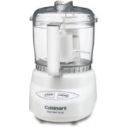 Cuisinart Mini-Prep Plus 3-Cup Food Processor White 500 W Food Processor(Clear)