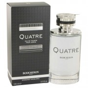 Boucheron Quatre Eau De Toilette Spray 3.4 oz / 100.55 mL Men's Fragrance 518671