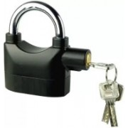 Nuestra Anti-Theft Padlock Security System Door Motor Bike Bicycle Safety Lock(Black)