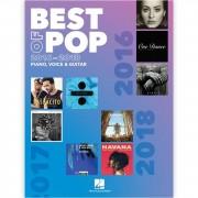 Hal Leonard Best Of Pop 2016-2018
