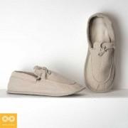 Rawganique Gluck Glue Free Handmade Organic Hemp Moc House Shoes Slippers RGFT-1768
