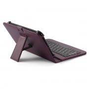 Husa Tableta 7 Inch Cu Tastatura Micro Usb Model X , Mov , Tip Mapa