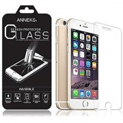 Anneks Premium Invisible Tempered Glass Screen Protector for iPhone 6s / iPhone 6 (4.7 ) with Crystal Clear Transparency 9H Hardness and Ultra Slim Design Force Touch / 3D Touch Compatible
