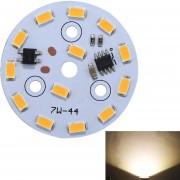 7W 13 LEDs SMD Ericsson 3000K Dimmable LED Bombilla Lampara Techo Modulo Panel Fuente De Iluminacion Modificada Instalación Conveniente, AC 220 - 240V (blanco Calido)