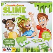 Nickelodeon Slime Smash Egg Cracking Game - Spin The Wheel, Pick a Pod & Get Smashing!