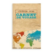 YourSurprise Carnet de voyage personnalisé - Couverture rigide