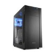 Sharkoon Case, S25-W, Atx, 2xusb 3.0,2x120 Fans Installed Window Black