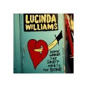 Lucinda Williams Down Where The Spirit Meets The Bone Country CD