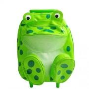 Sassafras /Pull-Along Animal Mochila, Rana (Frog)