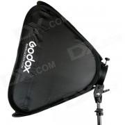 Godox Soporte S-Tipo Speedlite Soporte + 50 x 50cm Softbox para Fotografia de Estudio - Negro