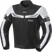 IXS Motorradjacke, Motorradschutzjacke IXS Levante Herren Textiljacke schwarz/weiß L weiß
