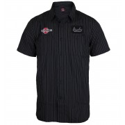košile pánská INDEPENDENT - F.O. Black - INASHT-002 BLACK