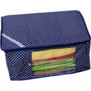 Ascension Set of 3 3pcs Saree cover Designer Non woven Saree cover/ Saree Bag/ Storage bag OP1682_3(Navy Blue)