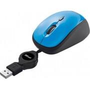 Trust 19653 Mouse Usb Ottico Yvi Retractable Colore Blu - 19653