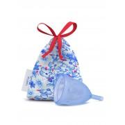 Ladycup Menstruationstasse blau - L