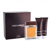 Dolce&Gabbana The One For Men confezione regalo Eau de Toilette 100 ml + balsamo dopobarba 50 ml + doccia gel 50 ml per uomo