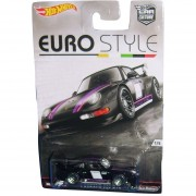 HOT WHEELS PORSCHE 993 GT2 CAR CULTURE EURO STYLE 2016 METAL /LLANTAS DE GOMA.