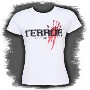 tricou stil metal femei Terror - Bloody Hand - Buckaneer - 1098