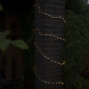 Kaemingk Party String Tube Light Twinkle warm white LED 8 Meters