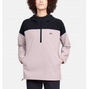 Under Armour Women's UA Recover Woven Anorak Jacket Pink LG
