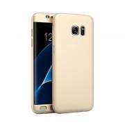 Husa 360 Full Cover Samsung S7 - Gold