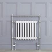 HudsonReed Sèche-serviettes rétro - Blanc - 93cm x 79cm x 23cm - Elizabeth