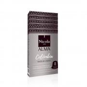 Capsule Nicola Cafes Colombia Single Origin, compatibile Nespresso, 10 capsule