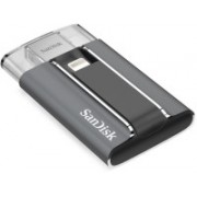 SanDisk SDIX-128G-P57 128 GB Pen Drive(Black, Grey)
