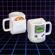 Taza con Galletero Gameboy Original Nintendo de ceramica
