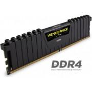 Memorija Corsair 16 GB DDR4 2400 MHz Vengeance Black, CMK16GX4M1A24C14