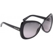 Tom Ford Over-sized Sunglasses(Grey)