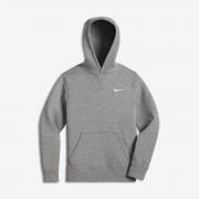 Sweatà capuche Nike YA76 Brushed Fleece Pullover pour Garçon (8-15 ans) - Gris
