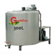 Tanc de racire lapte 300 litri inox