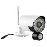 VisorTech Caméra de surveillance avec capteur PIR et audio 2 voies