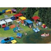 Faller Camping tenten set 130504