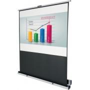 Nobo Projectiescherm op poot 1901956 Wit, zwart 175 x 210 cm