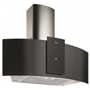 Hota Teka DU 985, semineu, 90 cm, panoramica, 3 trepte + 1, display, LED, 1 filtru, negru