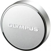 Olympus LC-48B - capac obiectiv pentru M.Zuiko Digital 17mm 1:1.8, Argintiu