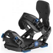 Now Ipo Snowboard Fermetures (Noir/Bleu)