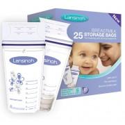 Lansinoh anyatejtároló zacskó (25db)