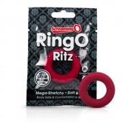 Screaming O Ritz XL - szilikon péniszgyűrű (piros)